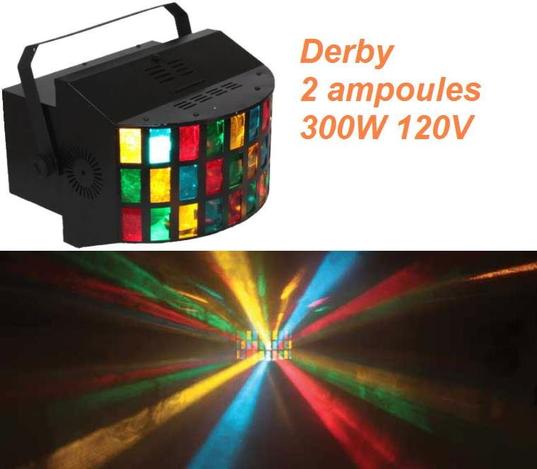 derby ampoule 120V 300W