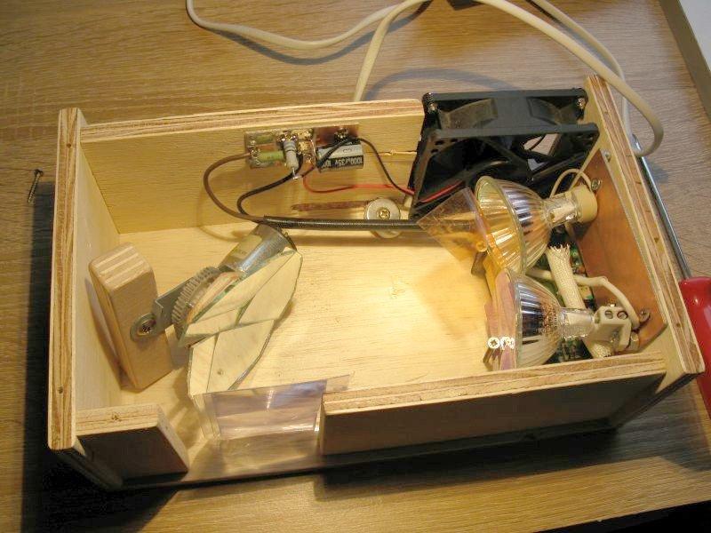 construire jeu lumiere ampoule halogene