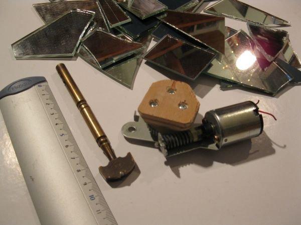 miroir jeu lumiere optique flower
