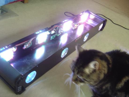 Jeu de lumière LED : principe