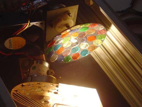 Jeu de lumiere Moonflower a gobo construction 3