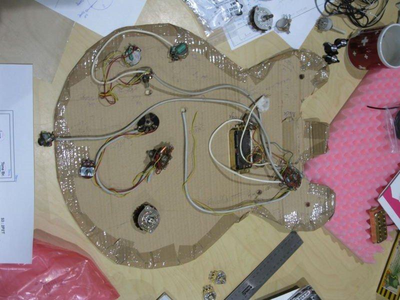 commutateur rotatif guitare