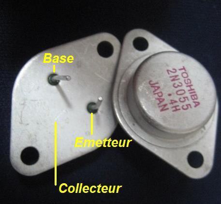 Le transistor 2n3055 for Le transistor
