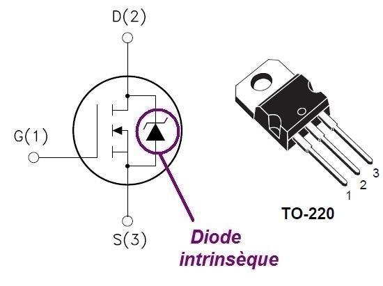 les transistors mosfet de puissance 2