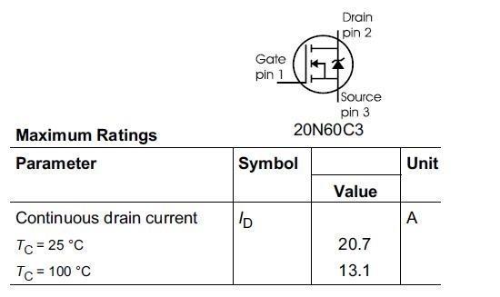 les transistors mosfet de puissance 5