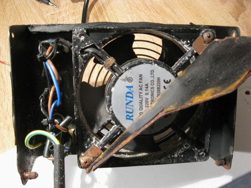 ventilation forcée machine à bulles