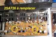 ampli pioneer SA7100 panne