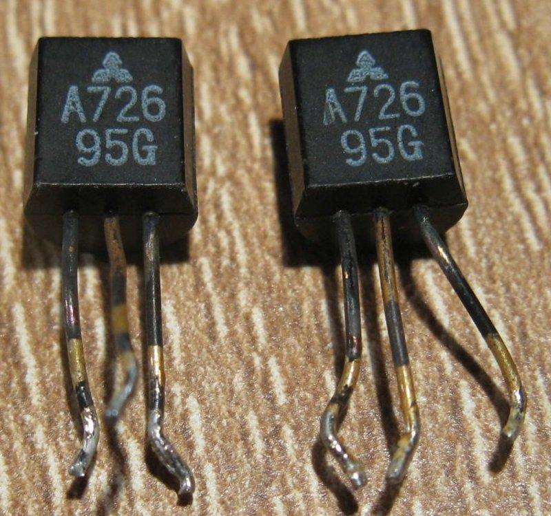 ampli pioneer SA7100 2SA726