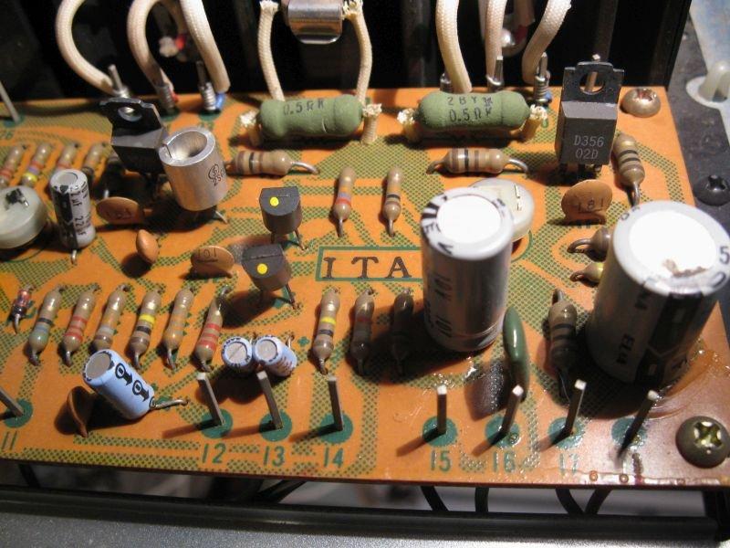reparer ampli hifi SA7100