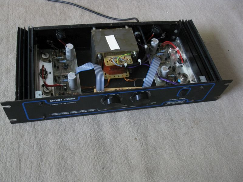 reparer ampli sono fusible