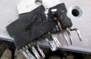 Panne de l'ampli TDA7294