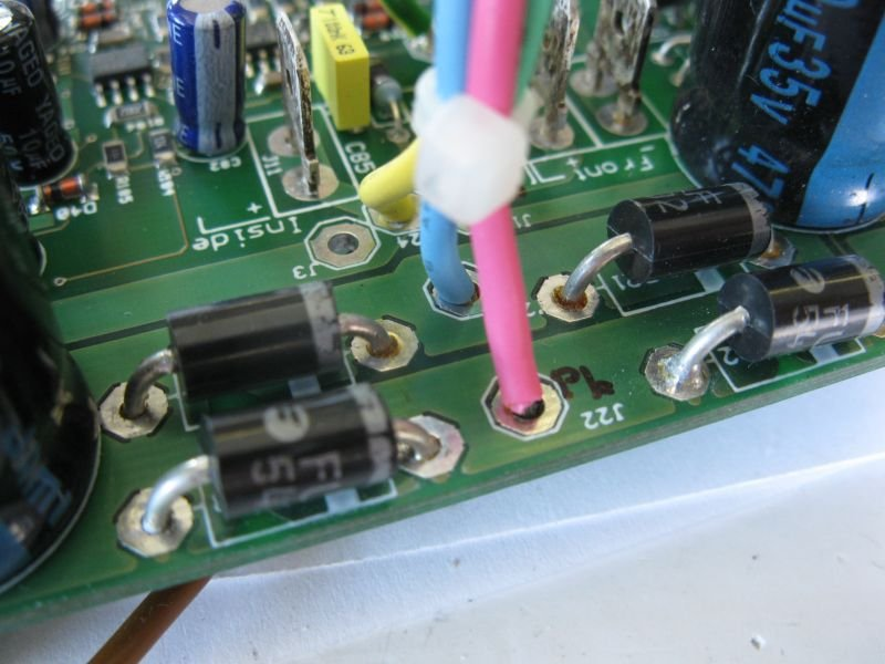 alimentation transfo ampli TDA7294