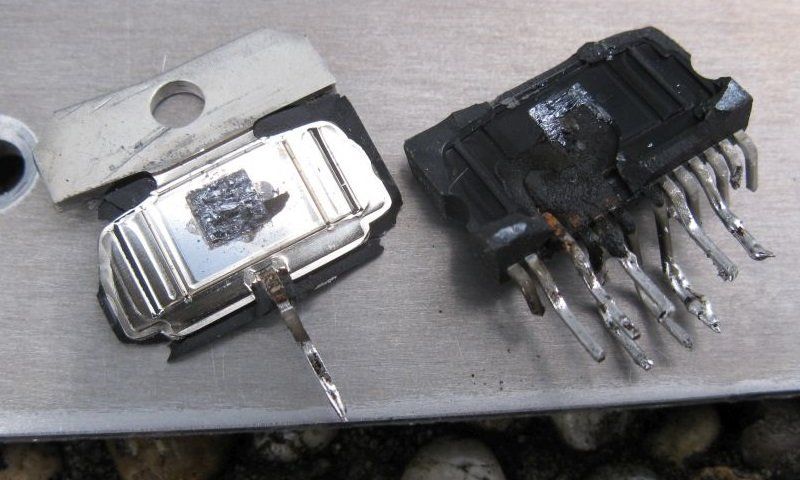 ampli circuit intégré TDA7294