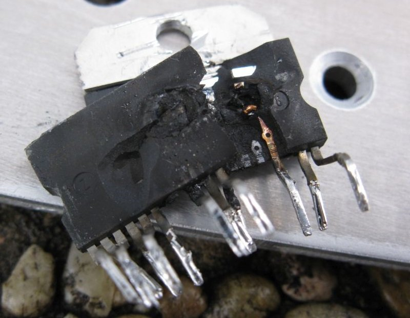 ampli TDA7294 panne