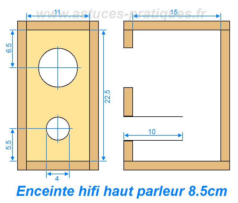 plan fabrication enceinte hifi