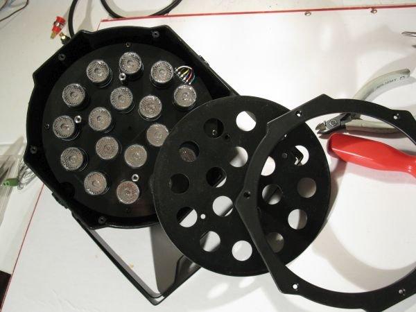 Projecteur LED : panne alimentation 12V