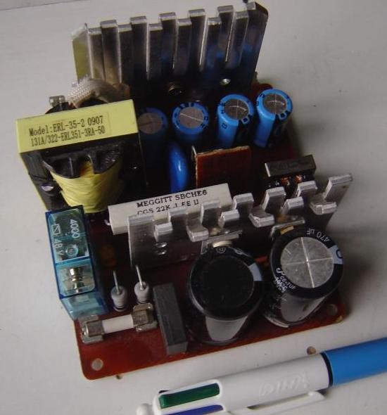 realisation et schema ampli audio 2x50w 3