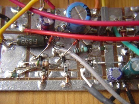 realisation et schema ampli audio 2x50w 7