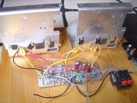 realisation et schema ampli audio 2x50w 0