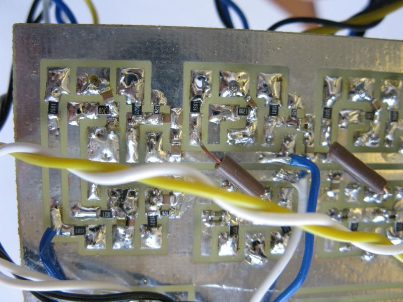 circuit imprimé filtre actif audio