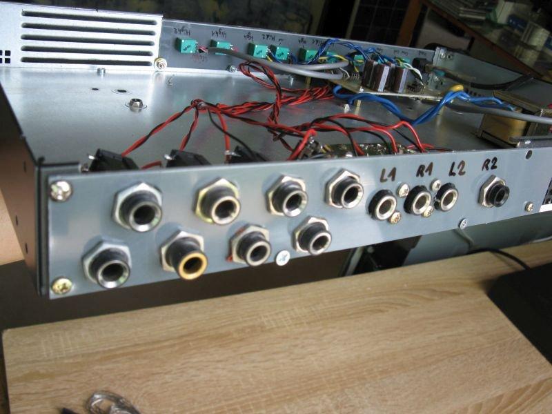 filtre actif audio rca jack