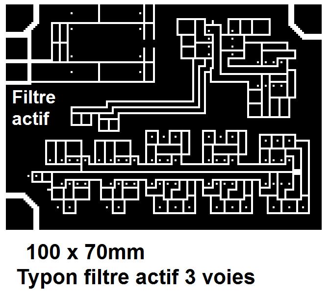typon filtre actif audio 3 voies