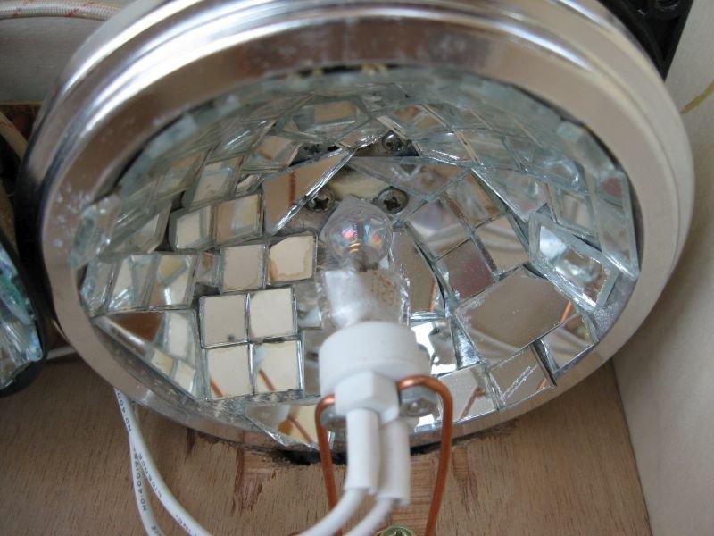 miroir jeu lumière moonflower 50W