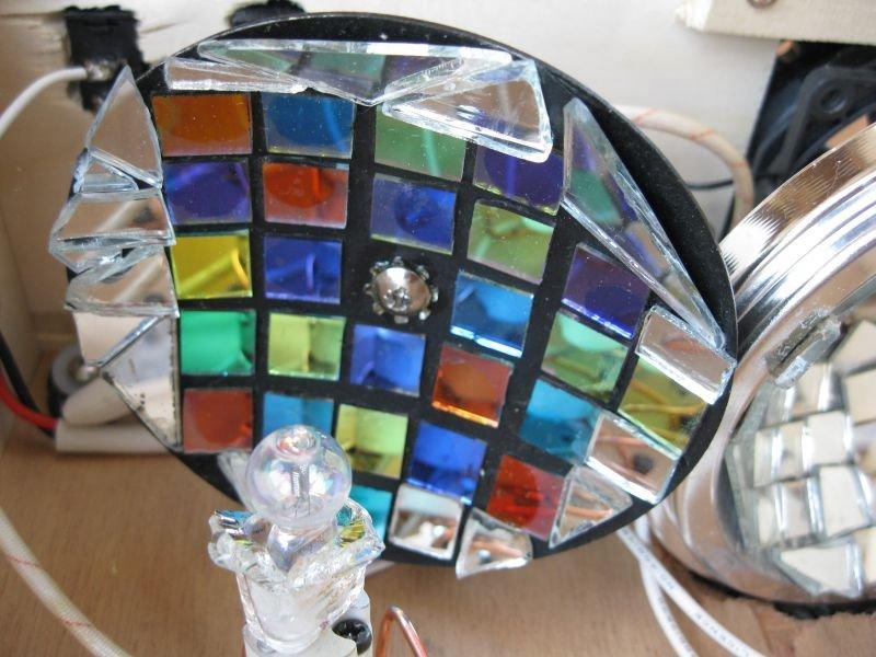 réflecteur miroir moonflower coupelle