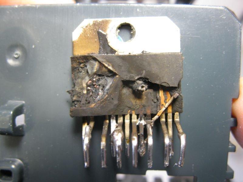 ampli TDA7294 panne remplacer