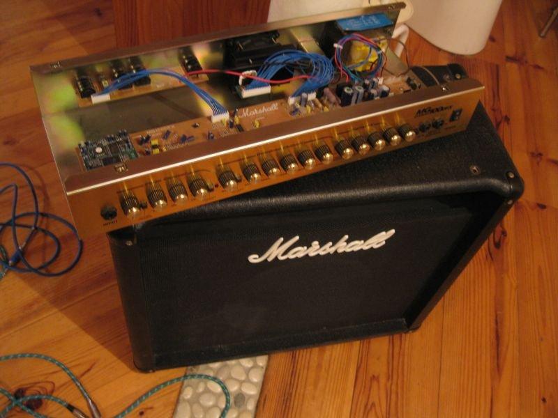 ampli marshall guitare mg100dfx