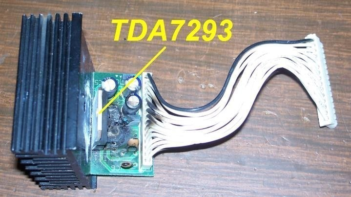 ampli marshall tda7293 schema