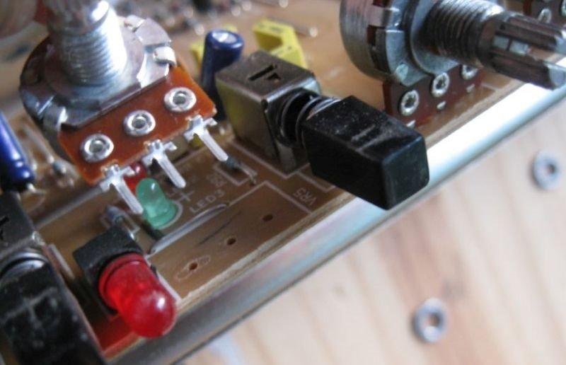 potentiometre ampli guitare gresillement