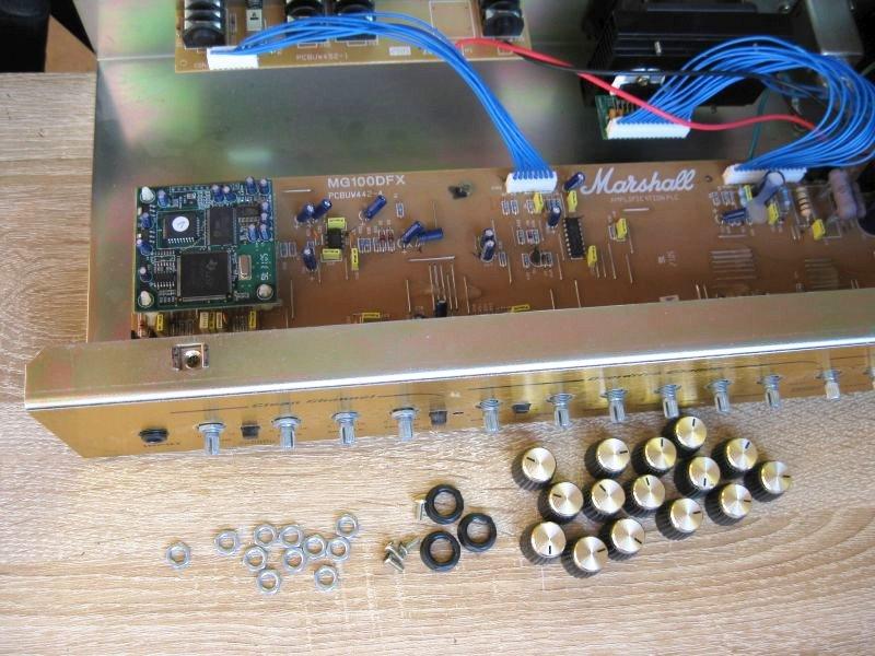 reparer ampli guitare potentiometre