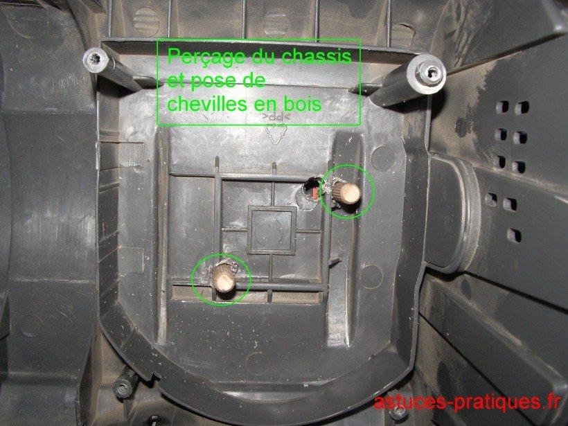 Réparation socle