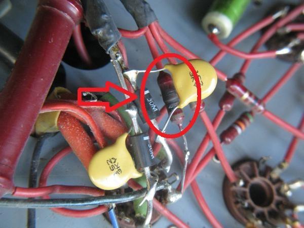 reparer un ampli a lampes en panne 1