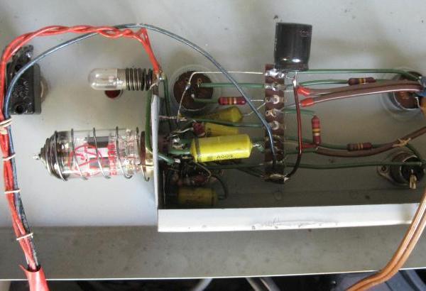 reparer un ampli a lampes en panne 2