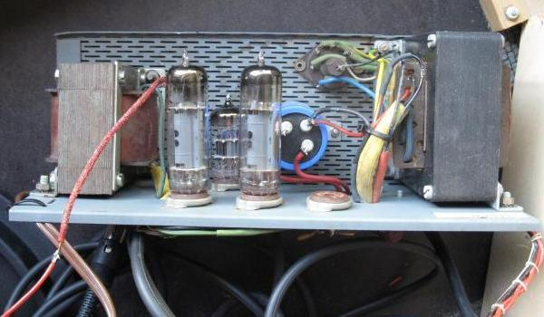 reparer un ampli a lampes en panne 3