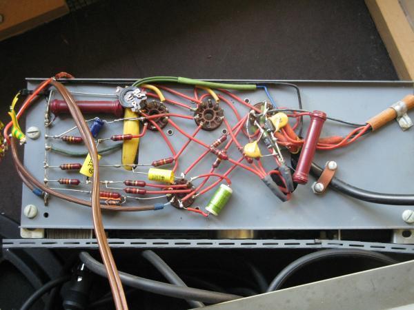 reparer un ampli a lampes en panne 4