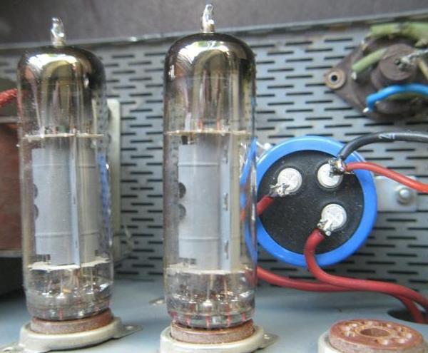 reparer un ampli a lampes en panne 5