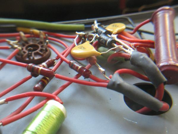 reparer un ampli a lampes en panne 7