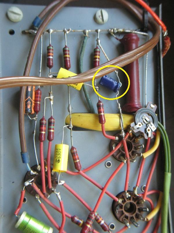 reparer un ampli a lampes en panne 8