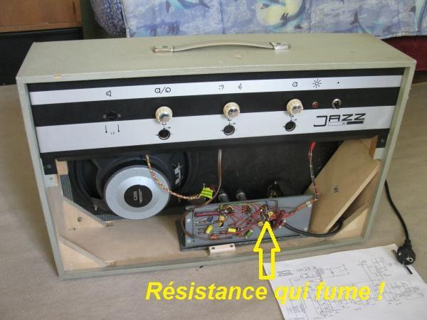 reparer un ampli a lampes en panne 6