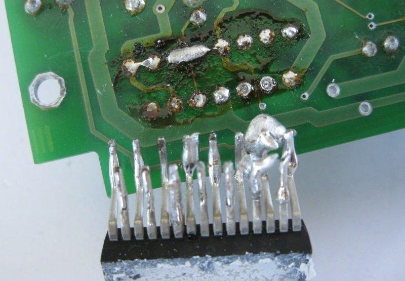 dessouder composant électronique étain