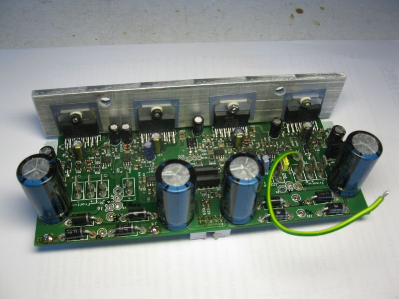 montage ampli guitare TDA7294