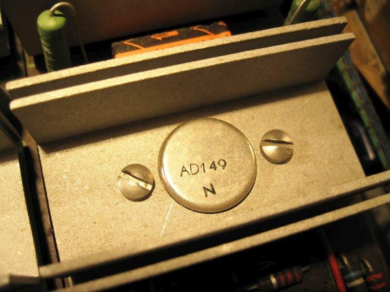 ampli polaris transistor germanium remplacer