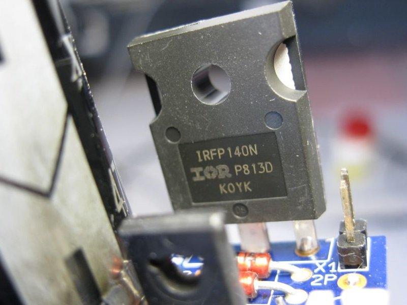 ampli mosfet transistor irfp140n
