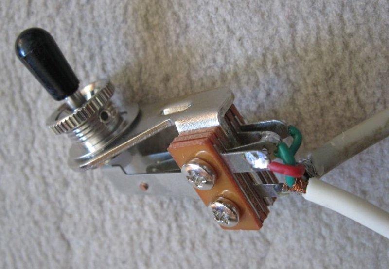 commutateur à bascule toggle switch