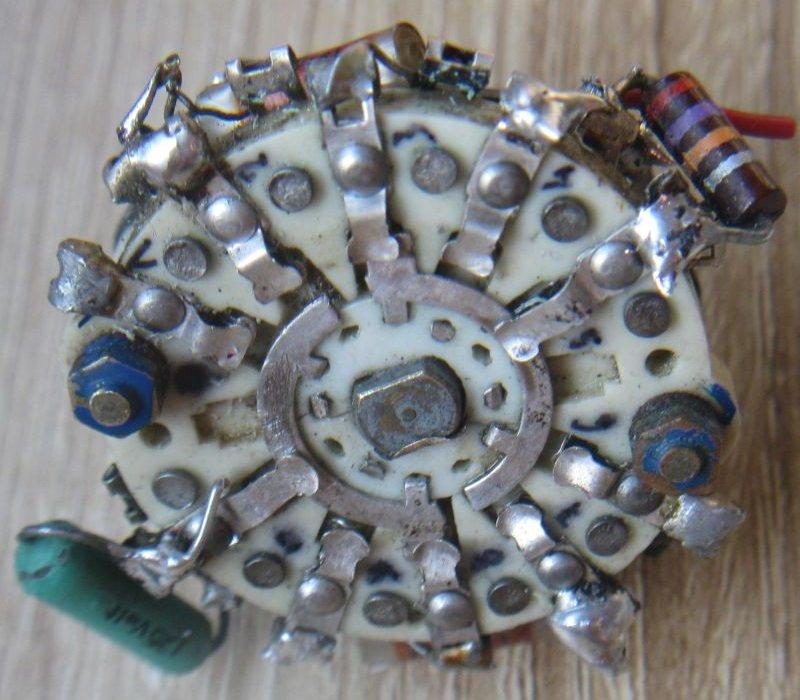 commutateur rotatif rotary switch guitare