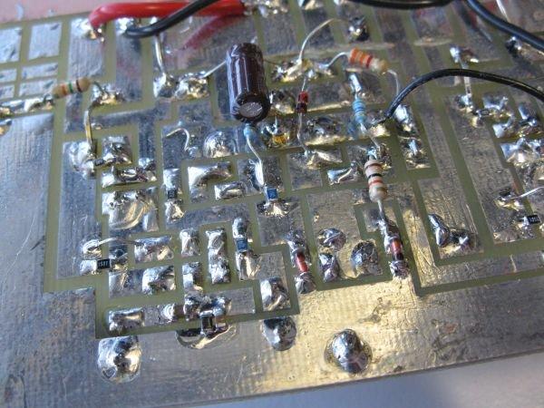 circuit imprimé ampli mono bridge 300w