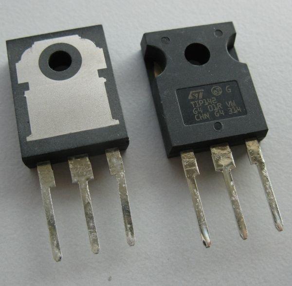 transistor darlington tip142 ampli sono